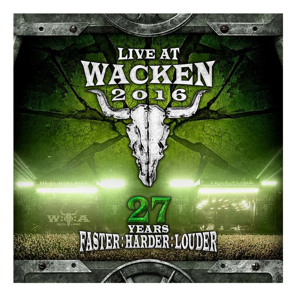 W:O:A - DVD - Live at Wacken 2016   www.metaltix.com